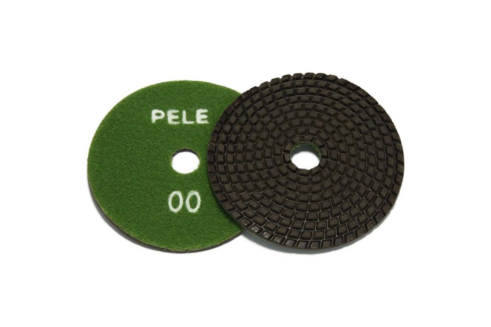 Алмазный гибкий шлифовальный круг PELE d 100мм №00-BUFF