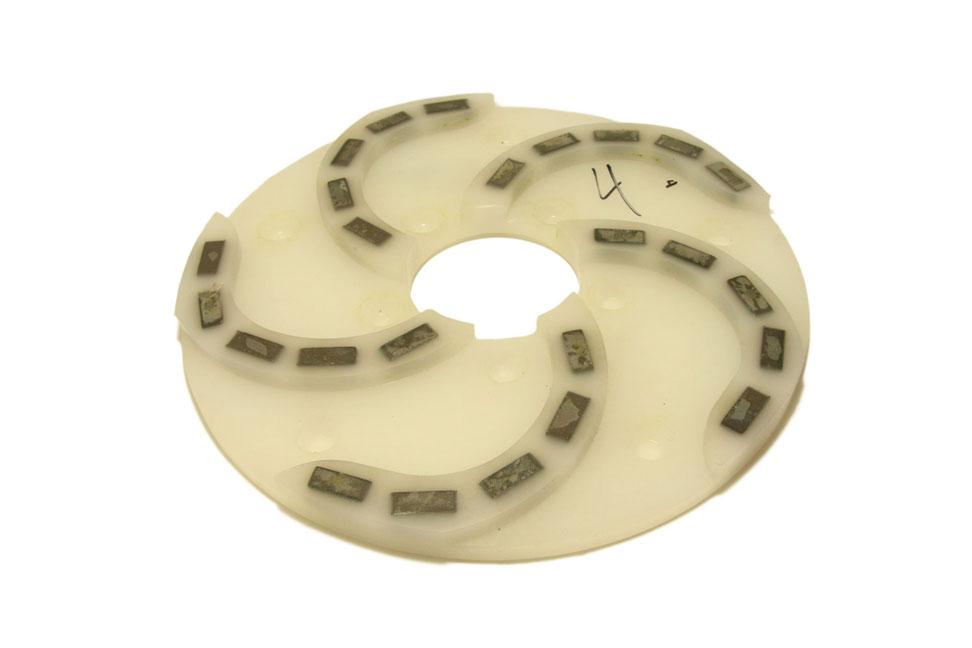 Круг алмазный шлифовальный 250 мм «Пластик» № 0-4