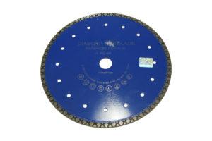 Отрезной алмазный диск d 230мм по бетону с ромбовидным сегментом