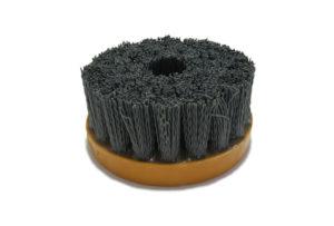 Абразивная щетка для браширования, состаривания камня d 110 мм, М14, №240