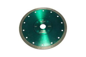 Алмазный отрезной круг по керамике и керамограниту d 180мм, чистый рез