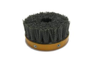 Абразивная щетка для браширования, состаривания камня d 110 мм, М14, №120