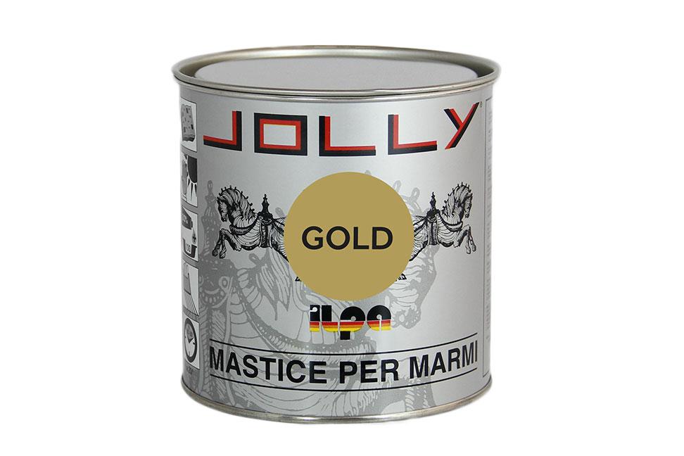 Клей-мастика для камня JOLLY GOLD ILPA, медовый, 1л