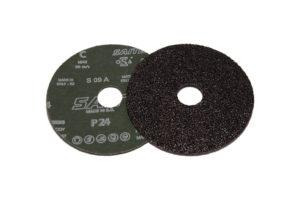 Наждачный диск SAITDISC d 115мм на фибровой основе №24-400