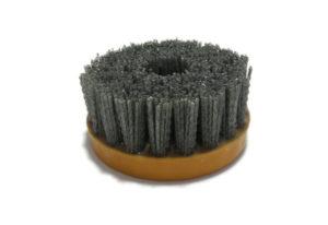 Абразивная щетка для браширования, состаривания камня d 110 мм, М14, №60