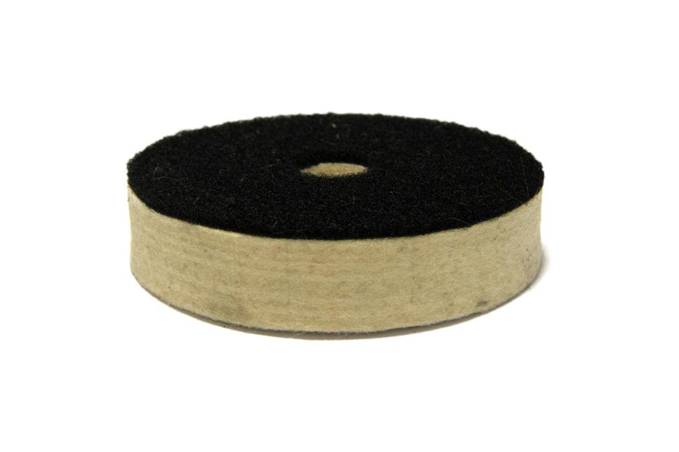 Фетровый круг d 100 мм, толщина 20 мм, высококачественный