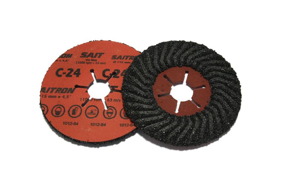Шлифовальный диск по камню SAITRON d 115мм