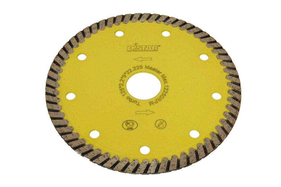 Круг алмазный отрезной Turbo 125×2.2x9x22.23 Master