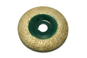 Чашка алмазная, торцевая полукруглая №000