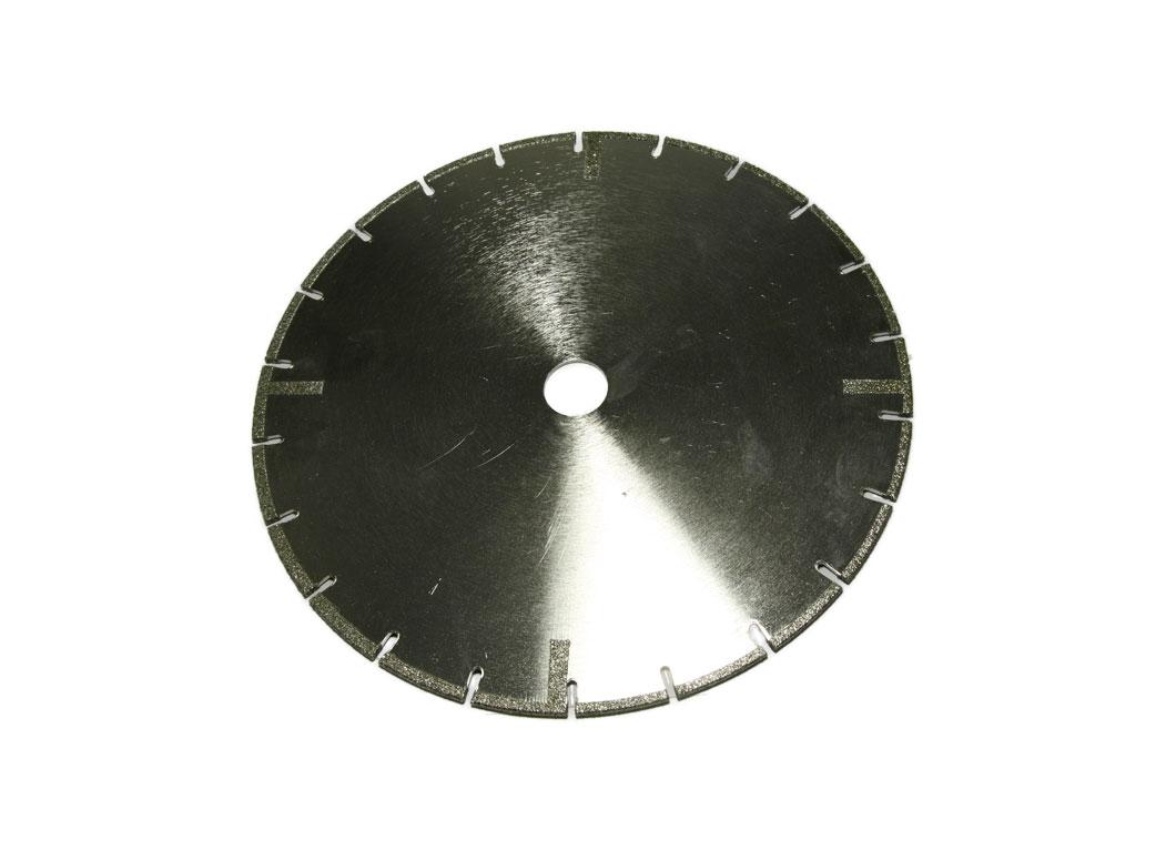 Алмазный отрезной круг по мрамору d 230мм, гальваника