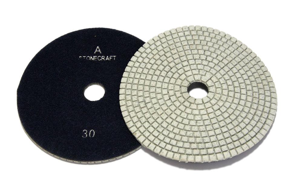 Алмазный гибкий шлифовальный круг d 150мм, класс А №30-3000