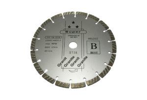 Алмазный отрезной диск d 230мм, сегментный