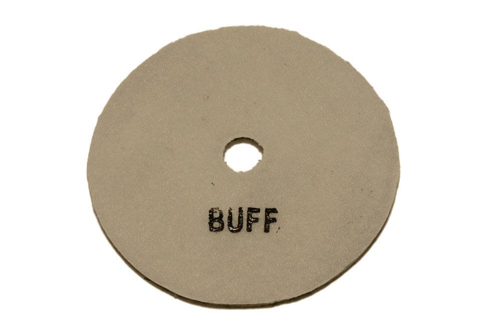 Алмазный полировальный круг d 125 мм BUFF для светлых пород камня