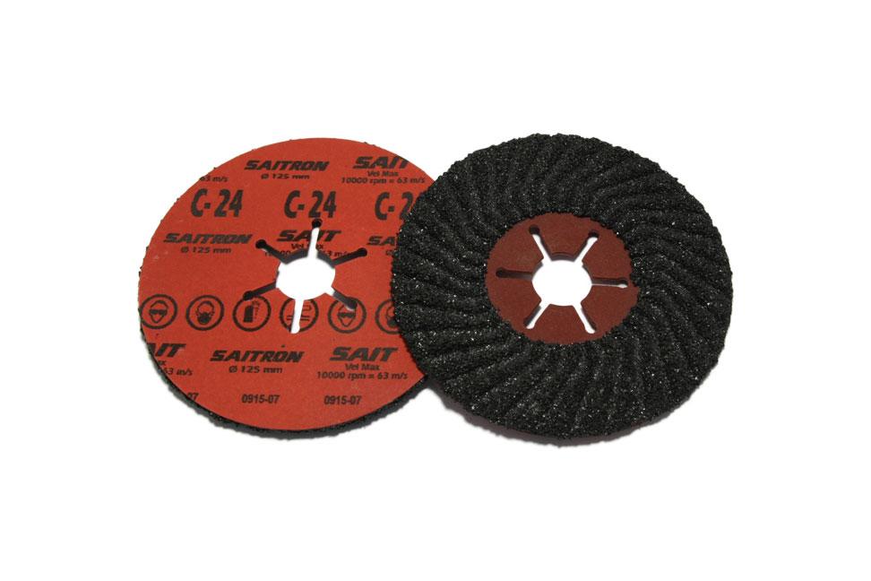 Шлифовальный диск по камню SAITRON d 125мм №24-120
